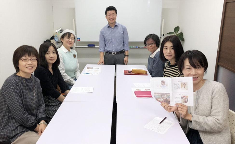 写真:トシモリ薬局 岡山を中心とした勉強会の実施風景